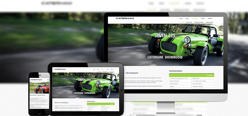 Caterham Austria Website