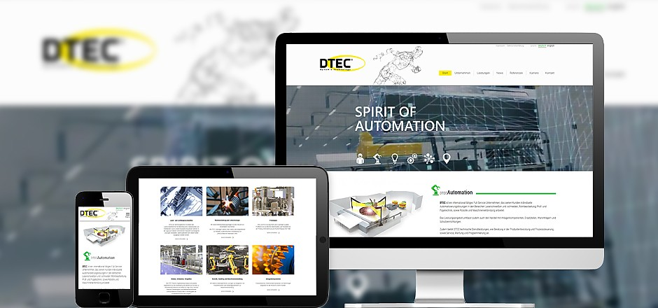 Website DTEC GmbH